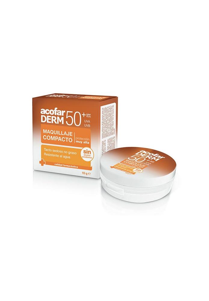 acofarDERM Maquillaje Compacto SPF50 10g
