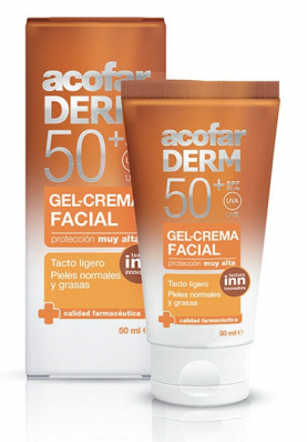 acofarDERM Gel-Crema Facial SPF50 50ml