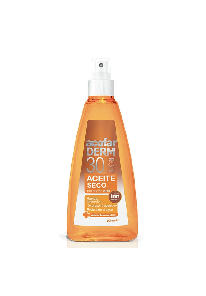 acofarDERM Aceite Seco Corporal SPF30 250ml
