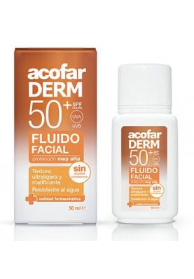 ACOFARDERM Fluido Facial SPF50 50ml