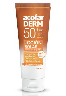 ACPFARDERM Loción Solar SPF50 200ml