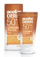 ACOFARDERM Crema Facial con Color SPF50 Antiarrugas 50ml