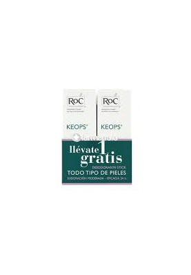 ROC Duplo Desodorante Keops Roll-On 2x30ml