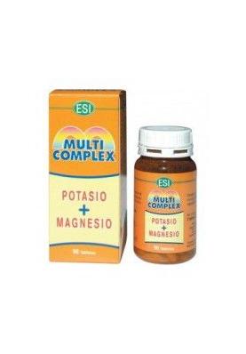 ESI Multi Complex Potasio + Magnesio 90 tabletas
