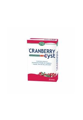 ESI Cranberry Cist 30 tabletas