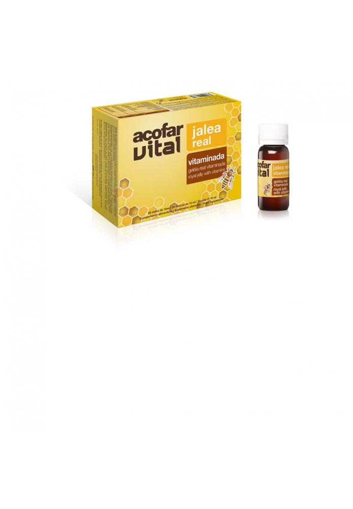 ACOFARVITAL Jalea Real Vitaminada 20 amp.