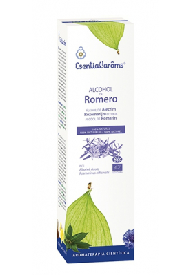 ESENTIAL'AROMS Alcohol de Romero Ecológico 100ml