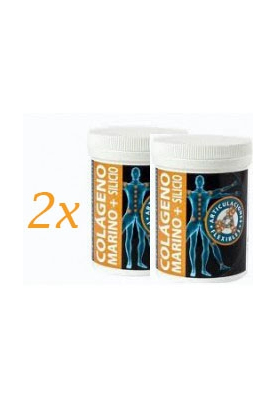INTERSA DUPLO Colageno Marino + Silicio orgànico antioxidante 2x 120caps. PROMOCIÓN 22,95€/UNIDAD