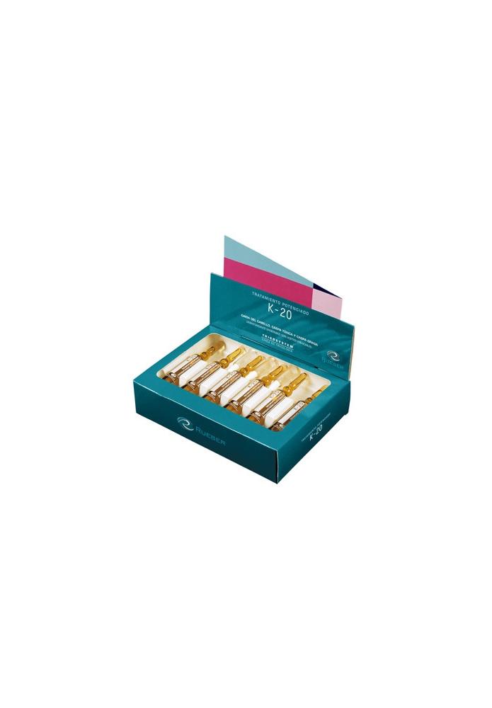 RUEBER Viales k-20 Potenciador Antitoxinas 20 amp.x 10ml