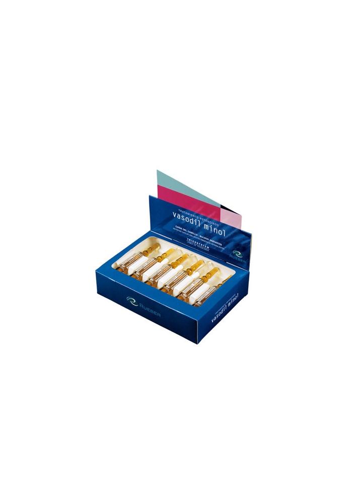 RUEBER Viales Vasodil Minol 12 ampollas x 10ml