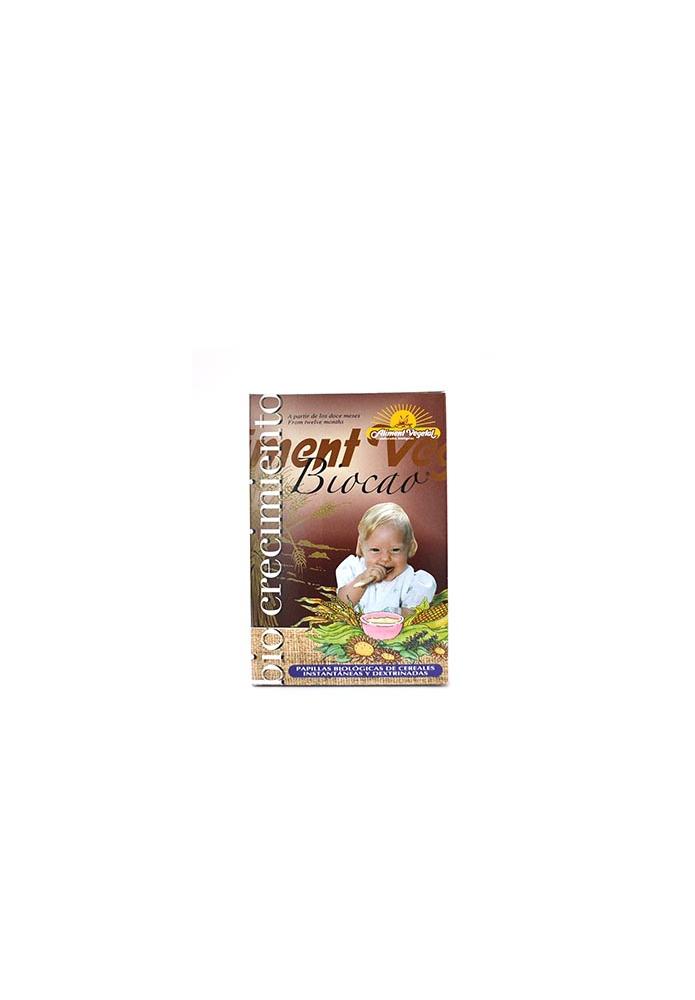 BIOCRECIMIENTO Papilla Cacao Bio 12 meses
