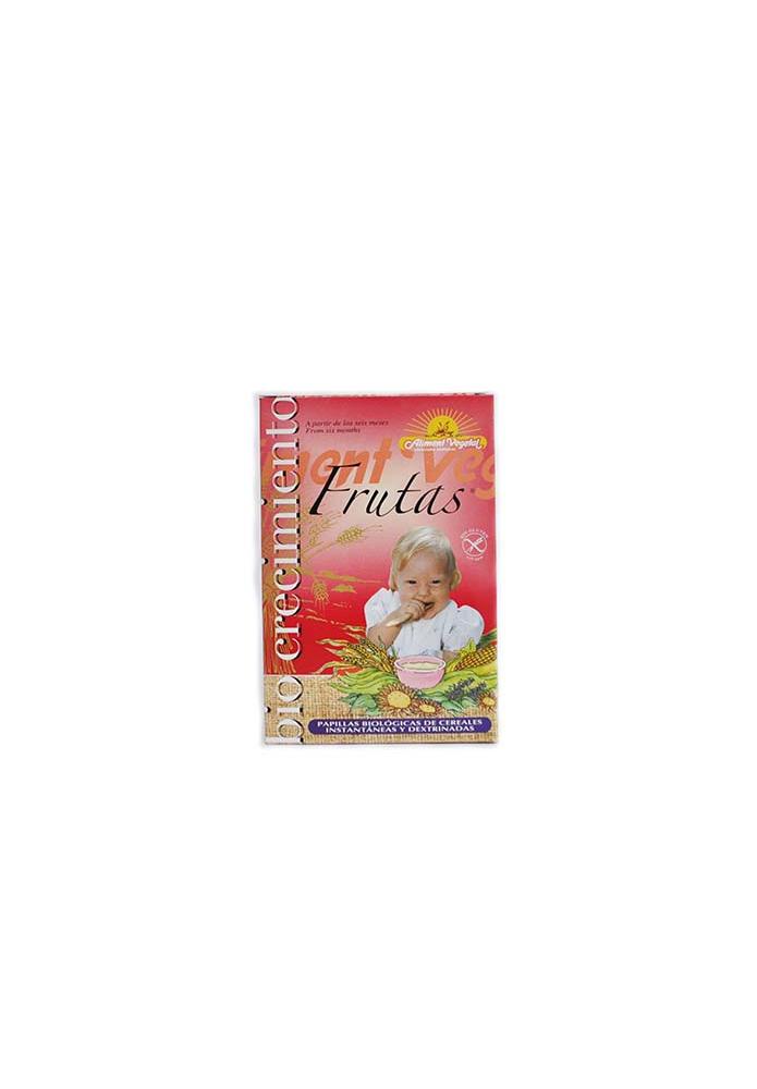BIOCRECIMIENTO Papilla Frutas Bio 400g