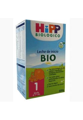 HIPP Biológico 1 Leche de Inicio +4 meses 600g
