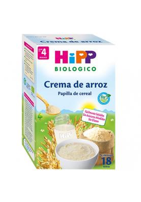 HIPP Papilla Arroz Sin Gluten 4 meses 400g