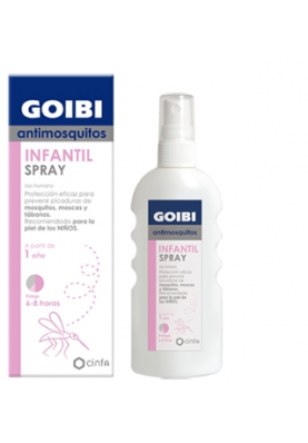 GOIBI Antimosquitos Spray Infantil +1 año 100ml