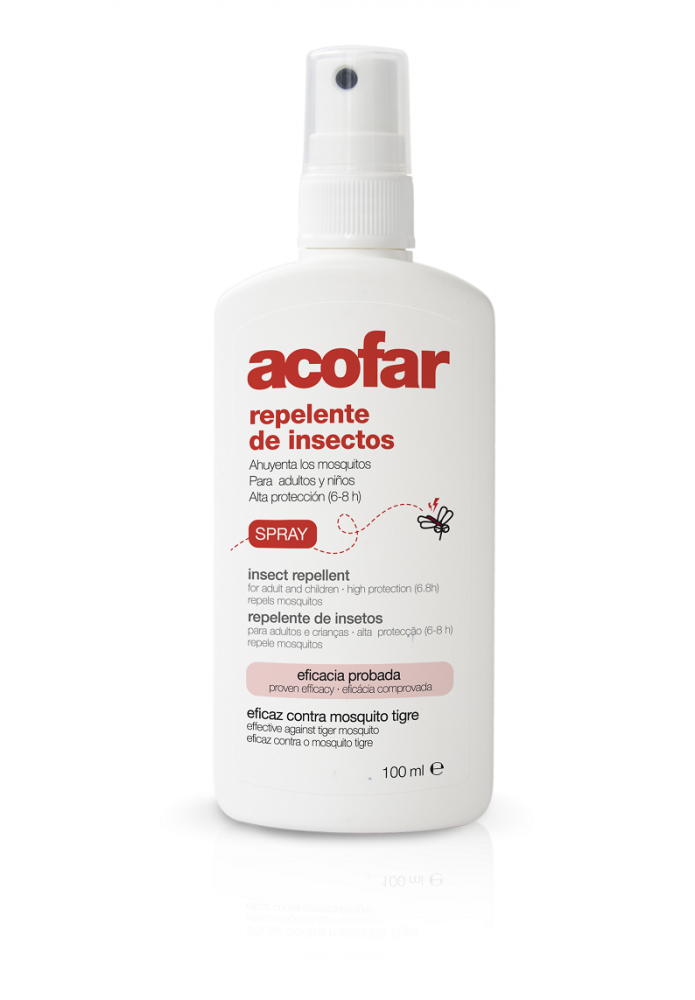 ACOFAR Repelente de insectos Spray 100ml