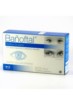 BAÑOFTAL Toallitas Oculares Estériles 20uds.