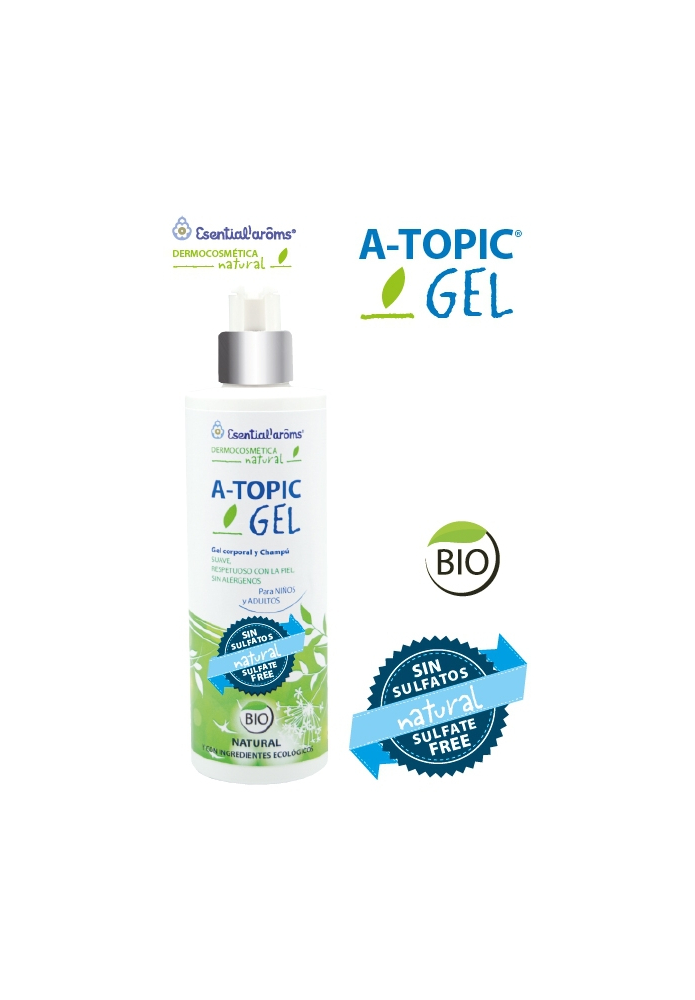 ESENTIAL'AROMS  A-TOPIC Gel corporal y Champú 400ml
