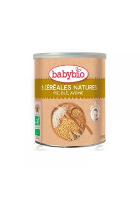 BABYBIO Tres Cereales Nature Bio 250g