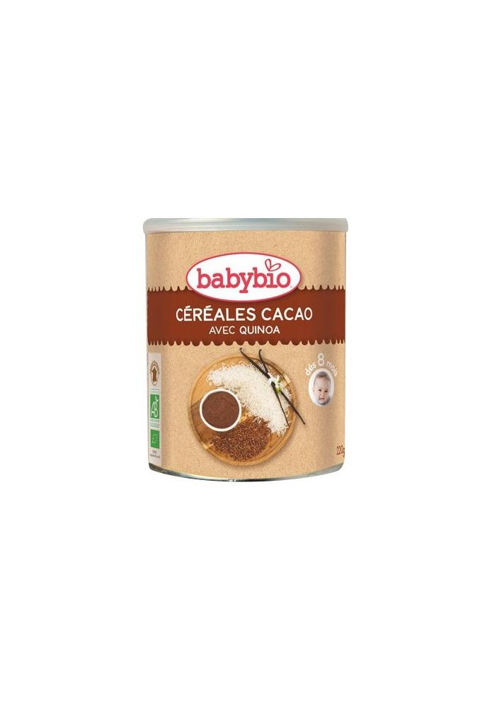 BABYBIO Cereales de Cacao + 8 meses 220g