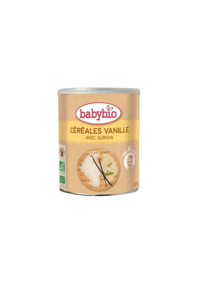 BABYBIO Cereales de Vainilla +6 meses 220g