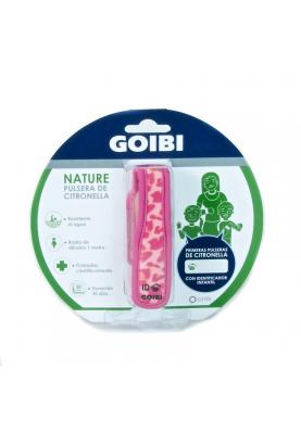 GOIBI Nature Pulsera Citronella Rosa
