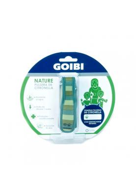 GOIBI NATURE Pulsera Cintronella Rayas verdes