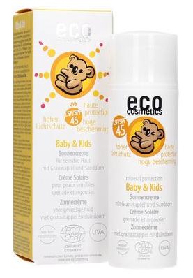ECO COSMETICS Crema Solar Niños SPF45 50ml