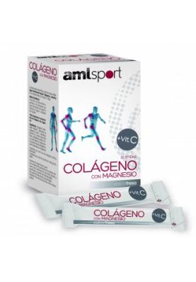 ANA MARIA LA JUSTICIA Colágeno con Magnesio + Vitamina c 20 sticks fresa