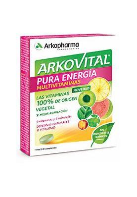 ARKOVITAL Pura Energia 30 comprimidos