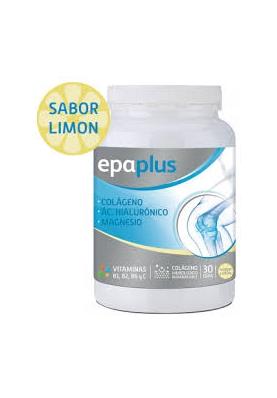 EPAPLUS Colágeno + Ác. Hialurónico + Magnesio en polvo 332g sabor limón