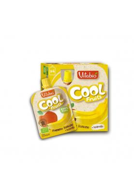 Vitabio Cool FRuits Manzana platano y acerola 4+2 uds