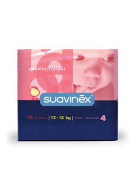 SUAVINEX Pañal Maxi 12-18Kg