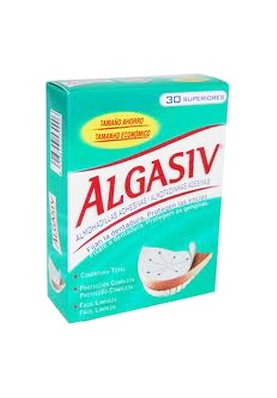 ALGASIV Almohadillas Adhesivas Protesis Superior 18 uds.