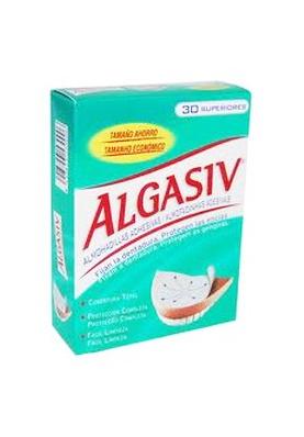 ALGASIV Almohadillas Adhesivas Protesis Superior 30 uds.