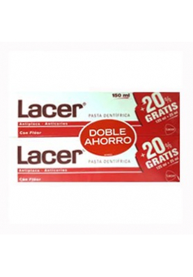 LACER Pasta dental duplo 2x125ml