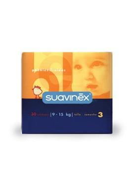 SUAVINEX Pañal Infantil 9-15Kg Grande 30 uds.