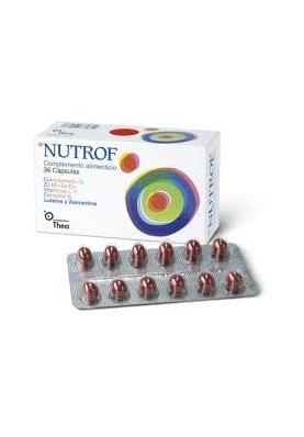 NUTROF Complemento Alimenticio 36 caps.