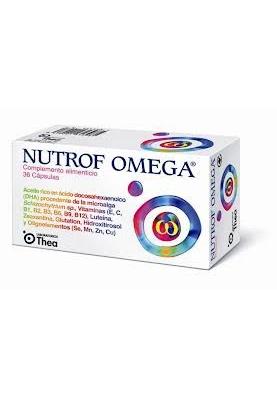 NUTROF OMEGA Complemento Alimenticio 36 caps.