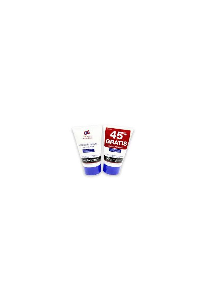 NEUTROGENA Pack Crema de Manos 50ml + 45% descuento en segunda unidad