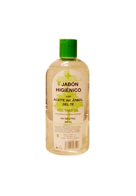 Jabón Higiénico con Aceite del Árbol del Té 300ml