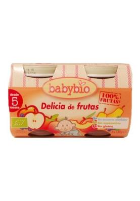 BABYBIO Tarrito Delicia de Frutas 2uds.x130g