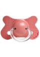 SUAVINEX Chupete Fusion tetina fisiológica látex +4 meses 1 ud.