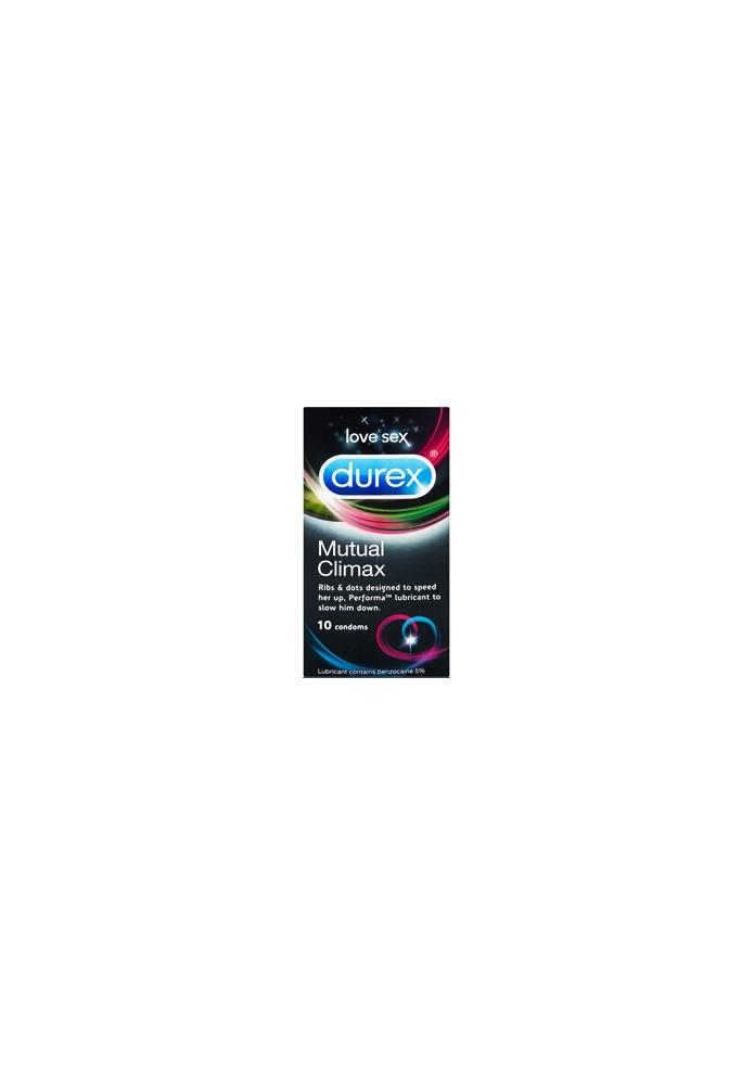 DUREX Preservativo Mutual Climax 10 uds.