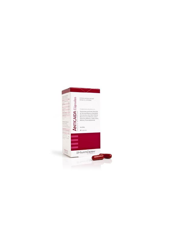 MARTIDERM Anticaída oral 60 cápsulas