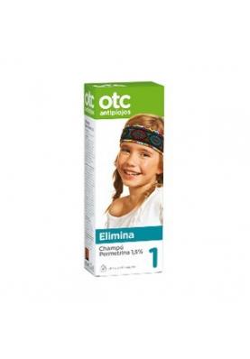 OTC Permetrina 1, 5%Champú antipiojos 125ml