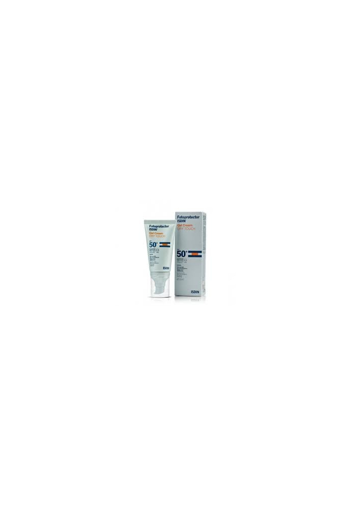 ISDIN Fotoprotector Gel Cream DRY TOUCH Sin Color SPF50 50ml