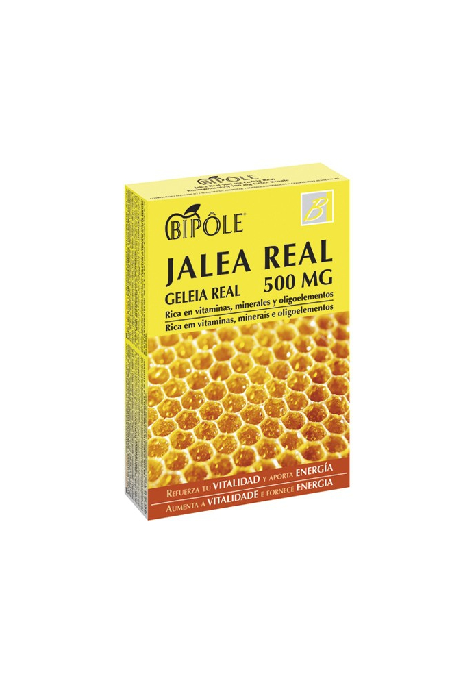 JALEA REAL 500MG (sin conservantes) 20amp.