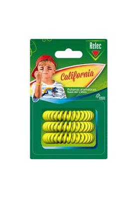 RELEC Pulseras Antimosquitos California 3uds